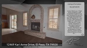 Kitchen Cabinets El Paso Tx 12469 Kari Anne Drive El Paso Tx 79928 Youtube