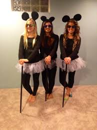 3 blind mice diy halloween costumes for girls celebrate