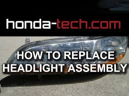 honda accord bumper replacement cost honda accord how to replace headlight assembly
