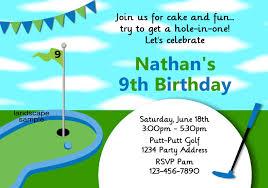 golf themed birthday invitations ideas u2013 bagvania free printable