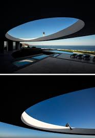 a house of curves on the coast contemporist