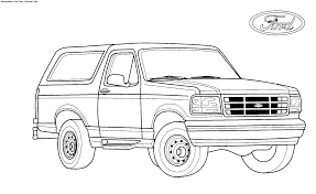 ford coloring pages funycoloring