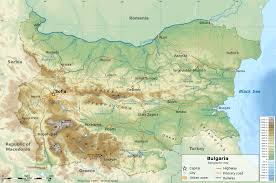 Highly Detailed River Map Of by Geography Of Bulgaria Wikipedia