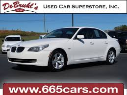 cars comparable to bmw 5 series 2008 bmw 5 series 528i for sale in asheville