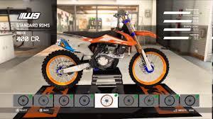mxgp 2 ktm setup and showcase blue and orange edition youtube