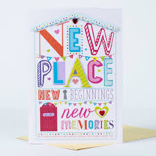new beginnings greeting card collection new home card new place new beginnings only 99p