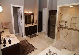 Laminate Flooring For Bathroom Use Black Hexagon Tile Bathroom Slidding Design Installed On Laminate