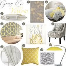crafty inspiration gray and yellow decor imposing design 17 best