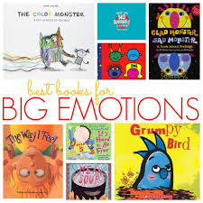 books about emotions for preschool pre k pages
