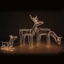 Christmas Animated Reindeer Decorations by Work Christmas Lights Collection On Ebay