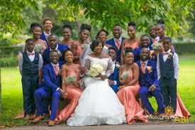 royal blue wedding emmanuel adwoa a coral royal blue wedding in london i do