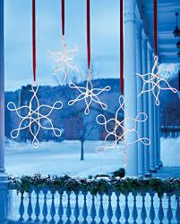outdoor hanging snowflake lights outdoor hanging snowflake ornaments snowflake ornaments