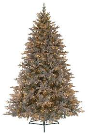 7 5 baby pine blue pre lit pe artificial tree clear