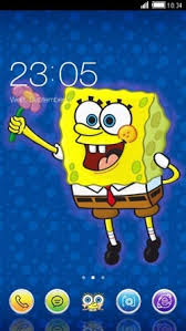 go launcher themes spongebob download free spongebob clauncher android mobile phone theme 1654