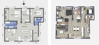 interior floor plans 2d interior design interior designer uses roomsketcher to