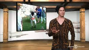 Tosh 0 Meme - tosh 0 is it racist watermelon eating contest youtube
