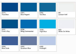 nice different colors of red paint 2 shades of blue color names1