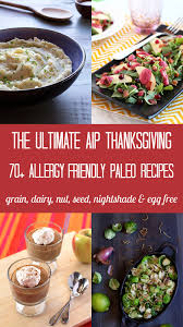 the ultimate aip thanksgiving egg free free recipes and allergies