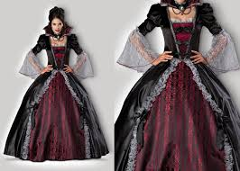 69 Halloween Costume Vampires Versailles 1083 Womens Halloween Costumes Gray Red