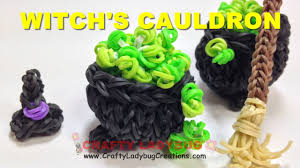 rainbow loom band pot of gold st patricks day or halloween 3d