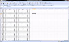 Workout Excel Spreadsheet Excel Grouping Columns And Rows Youtube