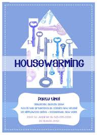 Invitation Card For Housewarming Catchy Blue Themed With Housewarming Party Invitation Card Design
