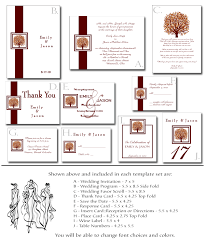 blank wedding invitation kits fall wedding invitation kit 1 printable autumn templates
