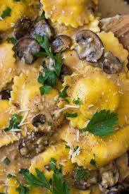 easy mushroom gravy recipe by cheese ravioli in creamy mushroom sauce countryside cravings
