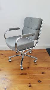 Mid Century Modern Desk Chair by Mid Century Modern Executive Gray Office Chair Herman Miller