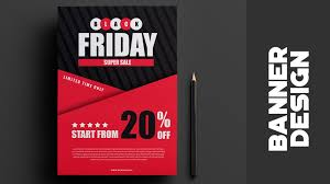 cs6 design black friday sale banner how to design banner in photoshop cs6