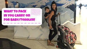 traveling with a baby images How to pack what to bring in carry on baggage traveling with jpg