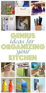 diy ideas for kitchen 12 diy ideas for organizing your kitchen