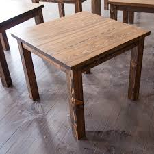 rustic kitchen table square san quentin tahoe square dining