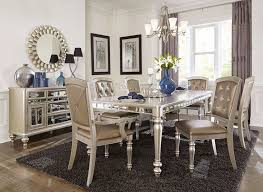 mirrored dining room table arsenia mirrored dining room furniture set nice mirrored dining