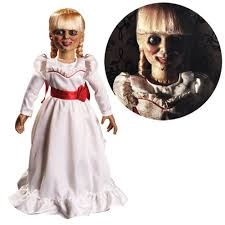Conjuring Halloween Costumes Conjuring Annabelle 18 Prop Replica Doll Mezco Toyz