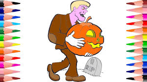 painting halloween coloring pages for kids coloring halloween