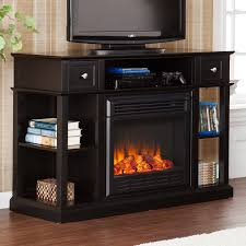 tv console with fireplace costco fireplace design and ideas