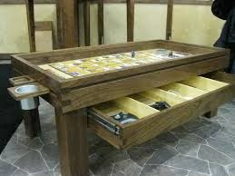 geek chic gaming table the ultimate board game table makes playing d d serious business