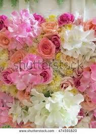 wedding flowers background wedding flowers background symbol stock photo 474591820