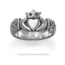 avery claddagh ring adorned claddagh ring from avery polyvore
