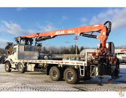 kenworth canada 2017 atlas 280 2 mounted on a kenworth t880 crane for sale in