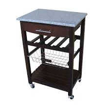 Granite Top Kitchen Cart  Target - Kitchen cart table