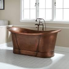 oval copper tub signature hardware
