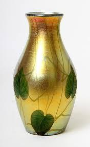 Tiffany Favrile Glass Vase December 2013 Philip Chasen Antiques