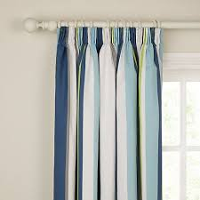 Blue Striped Curtains Best 25 Coastal Inspired Pencil Pleat Curtains Ideas On Pinterest