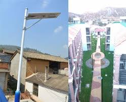 Solar Led Street Lighting by 30w Led Street Lights All In One Solar Lamp Integrated Solar Led