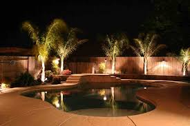 Pool Landscape Lighting Ideas Outdoor Pool Landscape Lighting Ideas Landscape Lighting Garden