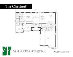 home plans van huizen homes