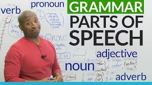 basic english grammar parts of speech u2013 noun verb adjective