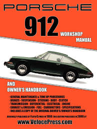 porsche 912 workshop manual 1965 1968 floyd clymer 9781588501011